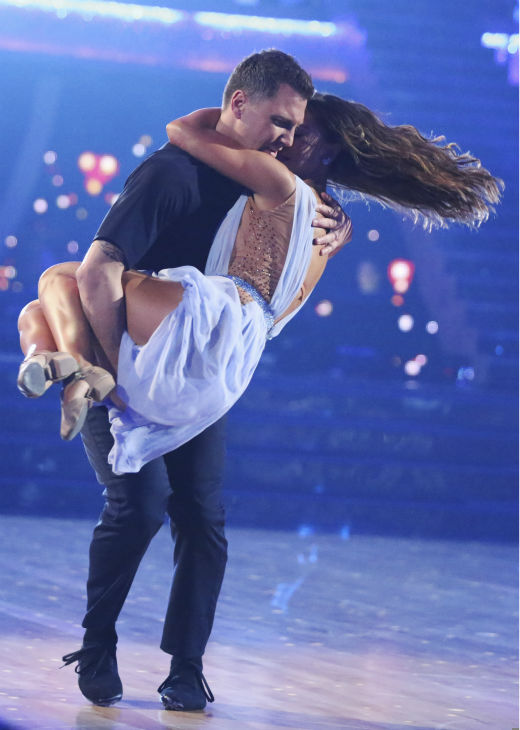 Sean Avery and Karina Smirnoff perform a Contemporary routine on week 1 of ABC&#39;s &#39;Dancing With The Stars&#39; on March 17, 2014. They received 20 out of 30 points from the judges. <span class=meta>(ABC Photo &#47; Adam Taylor)</span>
