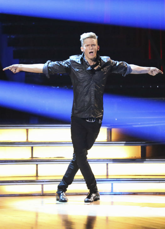 "<div class=""meta ""><span class=""caption-text "">Cody Simpson dances the Cha Cha Cha on week 1 of ABC's 'Dancing With The Stars' on March 17, 2014. He and partner Witney Carson received 22 out of 30 points from the judges. (ABC Photo / Adam Taylor)</span></div>"