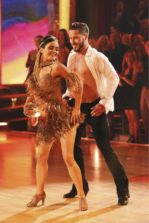 "<div class=""meta ""><span class=""caption-text "">Danica McKellar of 'The Wonder Years' fame and Valentin Chmerkovskiy dance the Samba on week 2 of 'Dancing With The Stars' on March 24, 2014. They received 24 out of 30 points from the judges. (ABC Photo / Adam Taylor)</span></div>"