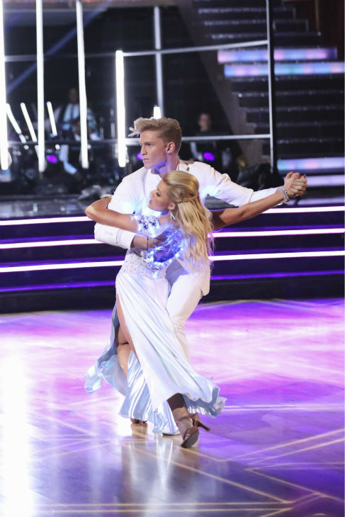 Cody Simpson, an Australian pop star, and Witney Carson dance the Tango on week 2 of &#39;Dancing With The Stars&#39; on March 24, 2014. They received 22 out of 30 points from the judges. <span class=meta>(ABC Photo &#47; Adam Taylor)</span>