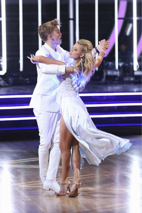 "<div class=""meta ""><span class=""caption-text "">Cody Simpson, an Australian pop star, and Witney Carson dance the Tango on week 2 of 'Dancing With The Stars' on March 24, 2014. They received 22 out of 30 points from the judges. (ABC Photo / Adam Taylor)</span></div>"