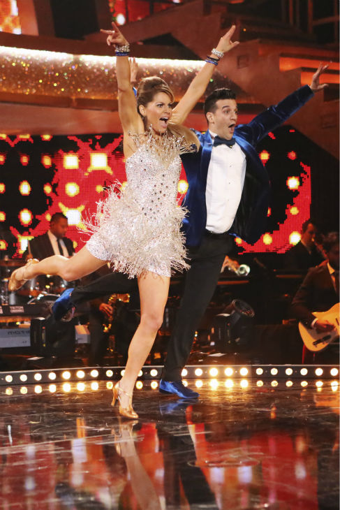 "<div class=""meta ""><span class=""caption-text "">Candace Cameron Bure of 'Full House' fame and Mark Ballas perform the Jive on week 3 of ABC's 'Dancing With The Stars' on March 31, 2014. They received 32 out of 40 points from the judges. (ABC Photo / Adam Taylor)</span></div>"