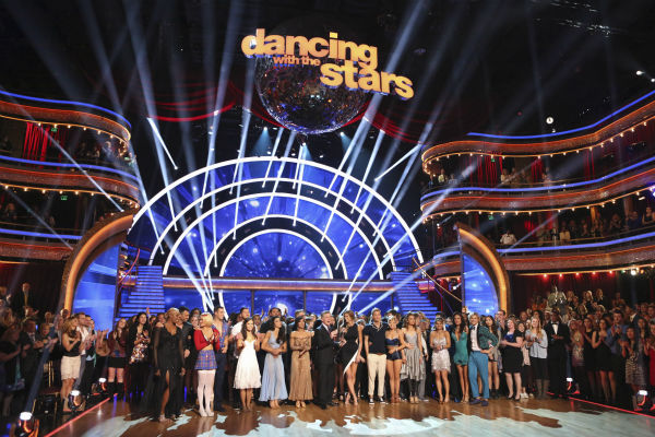 The cast of ABC&#39;s &#39;Dancing With The Stars&#39; appear during week 3 on March 31, 2014. The episode featured guest judge Robin Roberts of the network&#39;s show &#39;Good Morning America.&#39; <span class=meta>(ABC Photo &#47; Adam Taylor)</span>