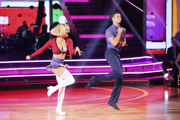 "<div class=""meta ""><span class=""caption-text "">James Maslow and Peta Murgatroyd dance the Jive on week 3 of ABC's  'Dancing With The Stars' on March 31, 2014. They received 36 out of 40 points from the judges. (ABC Photo / Adam Taylor)</span></div>"