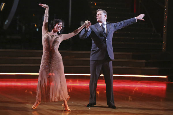 Drew Carey and Cheryl Burke dance the Waltz on week 3 of ABC&#39;s &#39;Dancing With The Stars&#39; on March 31, 2014. They received 30 out of 40 points from the judges. <span class=meta>(ABC Photo &#47; Adam Taylor)</span>