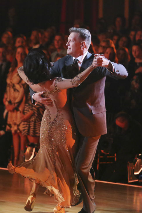 "<div class=""meta ""><span class=""caption-text "">Drew Carey and Cheryl Burke dance the Waltz on week 3 of ABC's 'Dancing With The Stars' on March 31, 2014. They received 30 out of 40 points from the judges. (ABC Photo / Adam Taylor)</span></div>"
