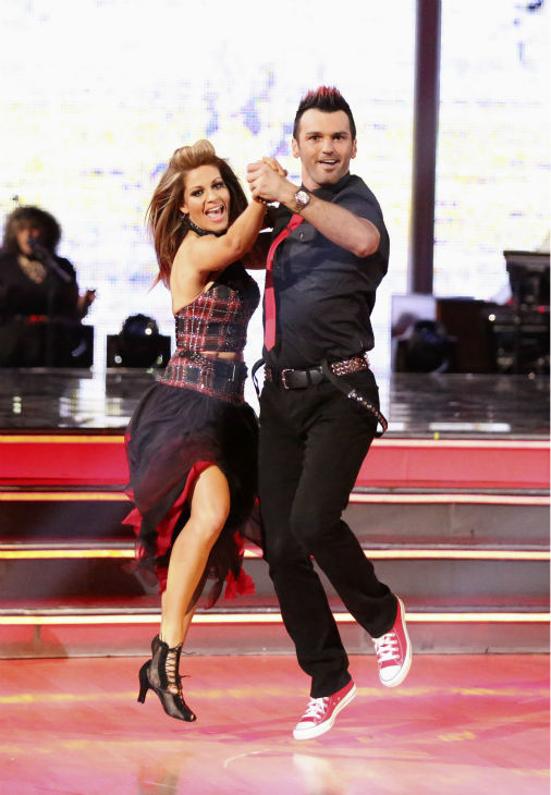 Candace Cameron Bure and Tony Dovolani perform the Quickstep on week 4 of ABC&#39;s &#39;Dancing With The Stars&#39; on April 7, 2014. They received 28 out of 40 points from the judges. Bure&#39;s regular partner is Mark Ballas. <span class=meta>(ABC Photo &#47; Adam Taylor)</span>