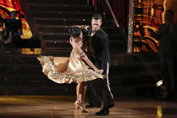 "<div class=""meta ""><span class=""caption-text "">James Maslow and Cheryl Burke danced the Tango on week 4 of ABC's 'Dancing With The Stars' on April 7, 2014. They received 35 out of 40 points from the judges. Maslow's regular partner is Peta Murgatroyd. (ABC Photo / Adam Taylor)</span></div>"