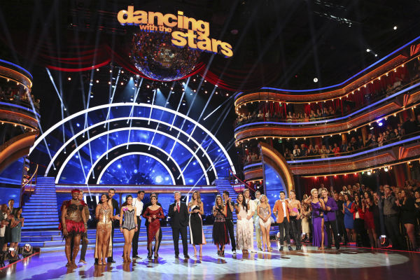 The cast of ABC&#39;s &#39;Dancing With The Stars&#39; seasonon 18 appears on week 4 on April 7, 2014. <span class=meta>(ABC Photo &#47; Adam Taylor)</span>