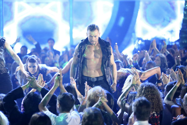 The &#39;Macy&#39;s Stars of Dance&#39; returned for the second time during season 18 on week 6 on April 21, 2014, with creative oversight by &#39;Dancing With The Stars&#39; pro Derek Hough. Pictured: pro dancer Artem Chigvintsev. <span class=meta>(ABC Photo &#47; Adam Taylor)</span>