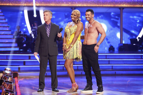 NeNe Leakes and Tony Dovolani danced the Salsa on week 6 of &#39;Dancing With The Stars&#39; season 18 on April 21, 2014. They received 33 out of 40 points from the judges. <span class=meta>(ABC Photo &#47; Adam Taylor)</span>