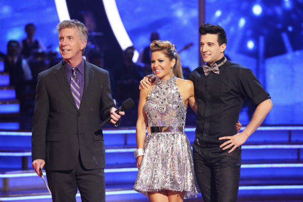 Candace Cameron Bure and Mark Ballas danced the Cha Cha Cha on week 6 of ABC&#39;s &#39;Dancing With The Stars&#39; season 18 on April 21, 2014. They received 32 out of 40 points from the judges. <span class=meta>(ABC Photo &#47; Adam Taylor)</span>