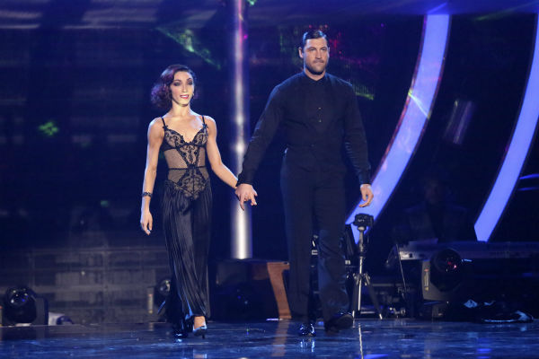 "<div class=""meta image-caption""><div class=""origin-logo origin-image ""><span></span></div><span class=""caption-text"">Meryl Davis and Maksim Chmerkovskiy dance the Tango on week 6 of ABC's 'Dancing With The Stars' on April 21, 2014. They received a perfect score of 40 out of 40 points from the judges. (ABC Photo / Adam Taylor)</span></div>"