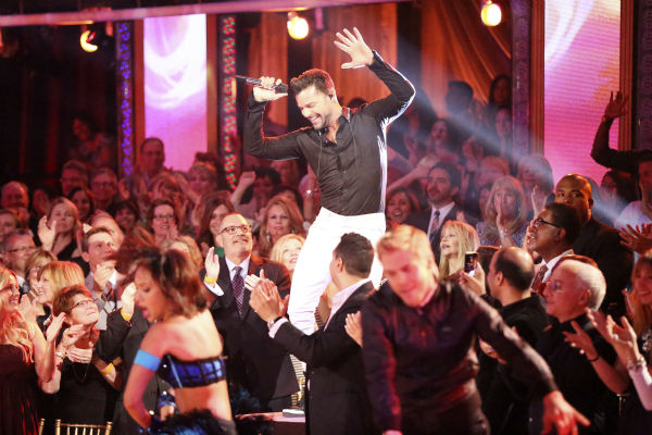 "<div class=""meta ""><span class=""caption-text "">Ricky Martin appears as a guest judge and performer on Latin night during week 7 of 'Dancing With The Stars' on April 28, 2014. (ABC Photo / Adam Taylor)</span></div>"