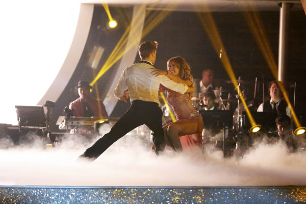 "<div class=""meta ""><span class=""caption-text "">Amy Purdy and Derek Hough dance the Rumba on week 7 of 'Dancing With The Stars' on April 28, 2014. They received 36 out of 40 points from the judges. The two also danced as part of team Loca and received 39 out of 40 points from the judges. (ABC Photo / Adam Taylor)</span></div>"