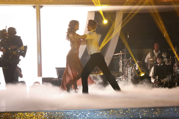Amy Purdy and Derek Hough dance the Rumba on week 7 of &#39;Dancing With The Stars&#39; on April 28, 2014. They received 36 out of 40 points from the judges. The two also danced as part of team Loca and received 39 out of 40 points from the judges. <span class=meta>(ABC Photo &#47; Adam Taylor)</span>