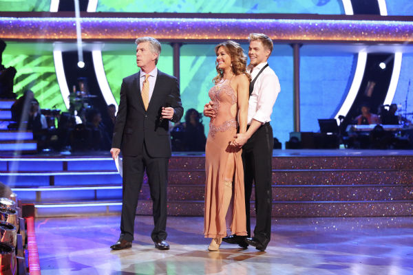 "<div class=""meta image-caption""><div class=""origin-logo origin-image ""><span></span></div><span class=""caption-text"">Amy Purdy and Derek Hough danced the Rumba on week 7 of 'Dancing With The Stars' on April 28, 2014. They received 36 out of 40 points from the judges. The two also danced as part of team Loca and received 39 out of 40 points from the judges. (ABC Photo / Adam Taylor)</span></div>"