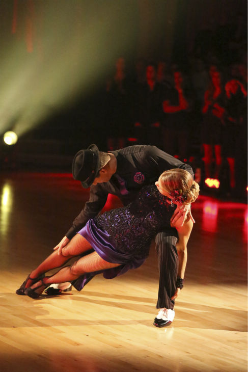 Candace Cameron Bure and Mark Ballas perform the Argentine Tango on week 7 of &#39;Dancing With The Stars&#39; on April 28, 2014. They received 35 out of 40 points from the judges. The two also danced as part of team Loca and received 39 out of 40 points from the judges. <span class=meta>(ABC Photo &#47; Adam Taylor)</span>