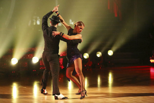 "<div class=""meta ""><span class=""caption-text "">Candace Cameron Bure and Mark Ballas perform the Argentine Tango on week 7 of 'Dancing With The Stars' on April 28, 2014. They received 35 out of 40 points from the judges. The two also danced as part of team Loca and received 39 out of 40 points from the judges. (ABC Photo / Adam Taylor)</span></div>"