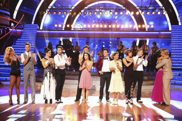 "<div class=""meta image-caption""><div class=""origin-logo origin-image ""><span></span></div><span class=""caption-text"">The cast of 'Dancing With The Stars' appears during week 8 on May 5, 2014. (ABC Photo / Adam Taylor)</span></div>"