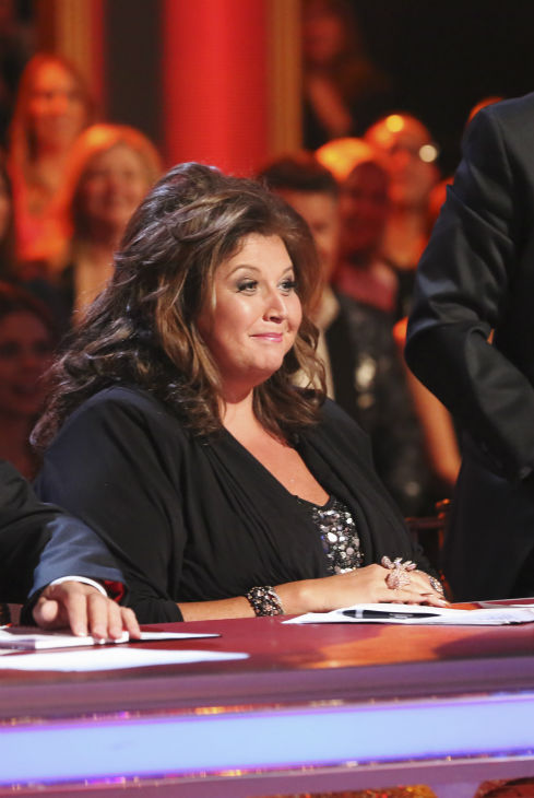 "<div class=""meta ""><span class=""caption-text "">Reality television personality and professional choreographer Abby Lee Miller of 'Dance Moms' appears as a guest judge on week 8 of 'Dancing With The Stars' on May 5, 2014. (ABC Photo / Adam Taylor)</span></div>"