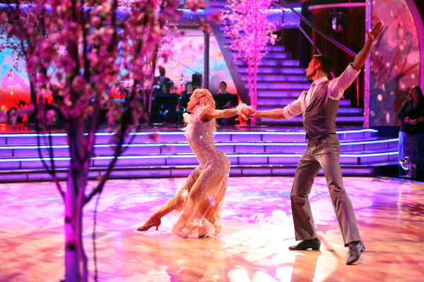 "<div class=""meta ""><span class=""caption-text "">James Maslow and Peta Murgatroyd dance the Viennese Waltz on week 8 of 'Dancing With The Stars' on May 5, 2014. They received 36 out of 40 points from the judges. He also scored 39 out of 40 points with Amy Purdy for their Jive during the celebrity dance duel. (ABC Photo / Adam Taylor)</span></div>"