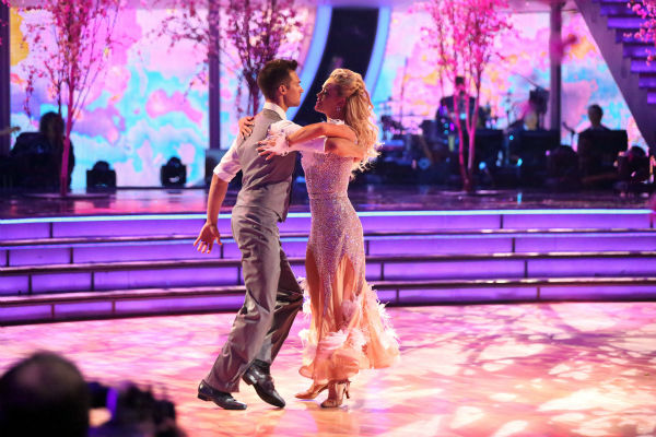 James Maslow and Peta Murgatroyd dance the Viennese Waltz on week 8 of &#39;Dancing With The Stars&#39; on May 5, 2014. They received 36 out of 40 points from the judges. He also scored 39 out of 40 points with Amy Purdy for their Jive during the celebrity dance duel. <span class=meta>(ABC Photo &#47; Adam Taylor)</span>