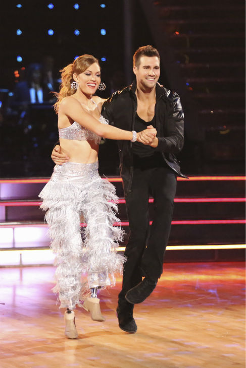 James Maslow and Amy Purdy appear during their celebrity dance duel routine on week 8 of &#39;Dancing With The Stars&#39; on May 5, 2014. They scored 39 out of 40 points for their Jive. <span class=meta>(ABC Photo &#47; Adam Taylor)</span>