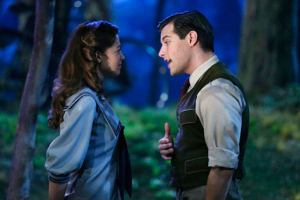 Ariane Rinehart as Liesl, Michael Campayno as Rolf Gruber appear in a photo from &#39;The Sound of Music Live!&#39; rehearsal. The show airs on Dec. 5, 2013. <span class=meta>(Will Hart&#47;NBC)</span>