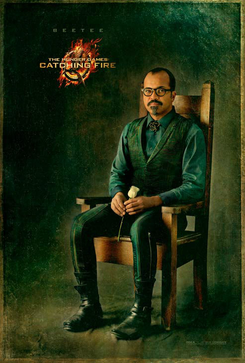 Jeffrey Wright poses as Beetee in 'The Capitol...