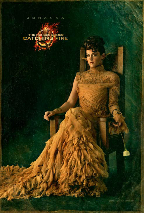 Jena Malone poses as Johanna Mason in 'The Capitol Portraits Series' for 'The Hunger Games: Catching Fire' due out on November 22, 2013.