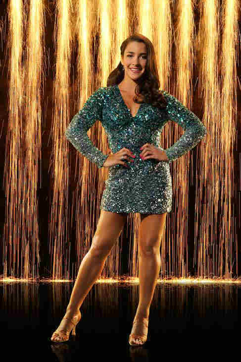 "<div class=""meta image-caption""><div class=""origin-logo origin-image ""><span></span></div><span class=""caption-text"">Aly Raisman appears in an official cast photo for 'Dancing With The Stars: All-Stars' season 16. (ABC Photo/ Craig Sjodin)</span></div>"
