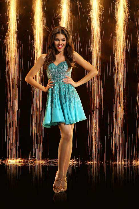 "<div class=""meta ""><span class=""caption-text "">Zendaya Coleman appears in an official cast photo for 'Dancing With The Stars: All-Stars' season 16. (ABC Photo/ Craig Sjodin)</span></div>"