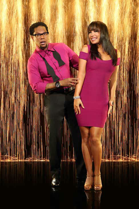 "<div class=""meta image-caption""><div class=""origin-logo origin-image ""><span></span></div><span class=""caption-text"">D.L. Hughley and partner Cheryl Burke appear in an official cast photo for 'Dancing With The Stars: All-Stars' season 16. (ABC Photo/ Craig Sjodin)</span></div>"