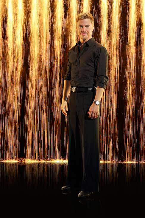 Pro dancer Derek Hough appears in an official cast photo for 'Dancing With The Stars: All-Stars' season 16.