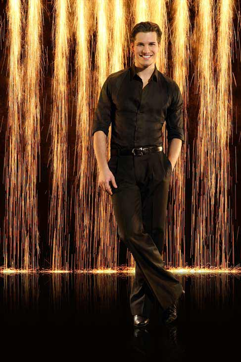 "<div class=""meta ""><span class=""caption-text "">Pro dancer Gleb Savchenko appears in an official cast photo for 'Dancing With The Stars: All-Stars' season 16. (ABC Photo/ Craig Sjodin)</span></div>"
