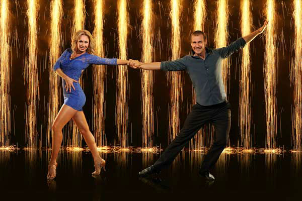 Ingo Rademacher and partner Kym Johnson appear in an official cast photo for &#39;Dancing With The Stars: All-Stars&#39; season 16. <span class=meta>(ABC Photo&#47; Craig Sjodin)</span>