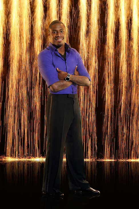 "<div class=""meta ""><span class=""caption-text "">Jacoby Jones appears in an official cast photo for 'Dancing With The Stars: All-Stars' season 16. (ABC Photo/ Craig Sjodin)</span></div>"