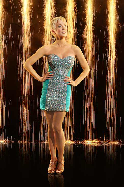 Kellie Pickler appears in an official cast photo for 'Dancing With The Stars: All-Stars' season 16.