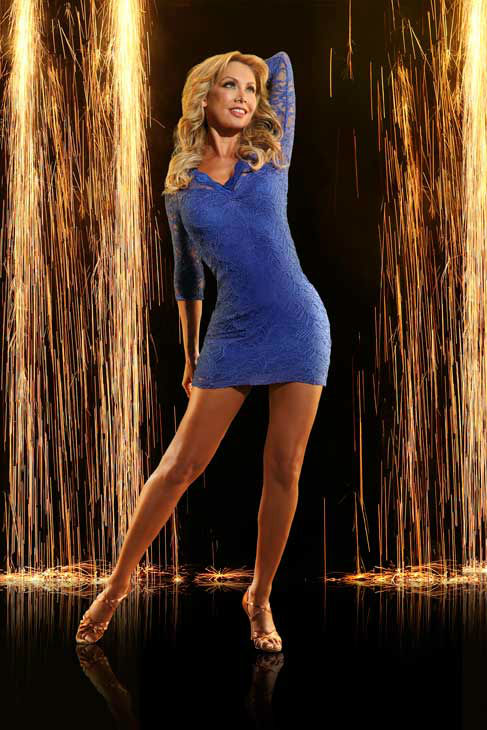 "<div class=""meta ""><span class=""caption-text "">Pro dancer Kym Johnson appears in an official cast photo for 'Dancing With The Stars: All-Stars' season 16. (ABC Photo/ Craig Sjodin)</span></div>"