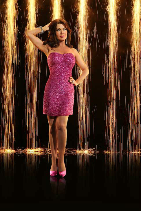 "<div class=""meta ""><span class=""caption-text "">Lisa Vanderpump appears in an official cast photo for 'Dancing With The Stars: All-Stars' season 16. (ABC Photo/ Craig Sjodin)</span></div>"