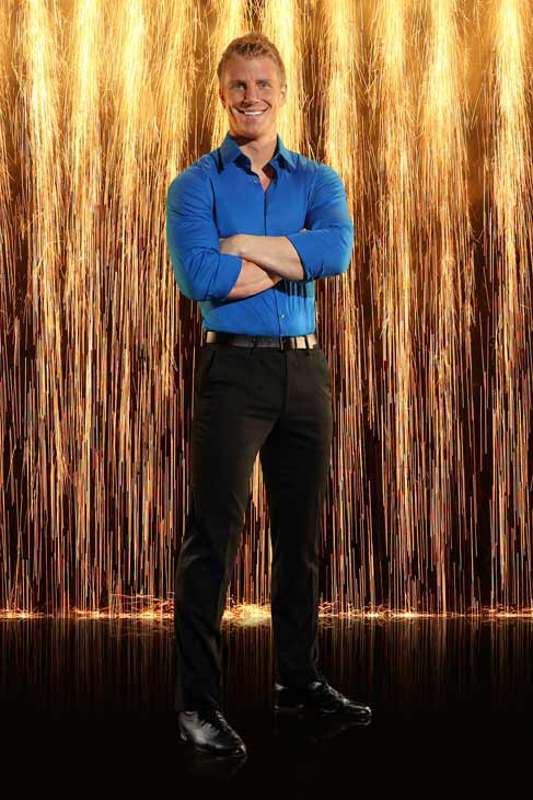 Sean Lowe appears in an official cast photo for 'Dancing With The Stars: All-Stars' season 16.
