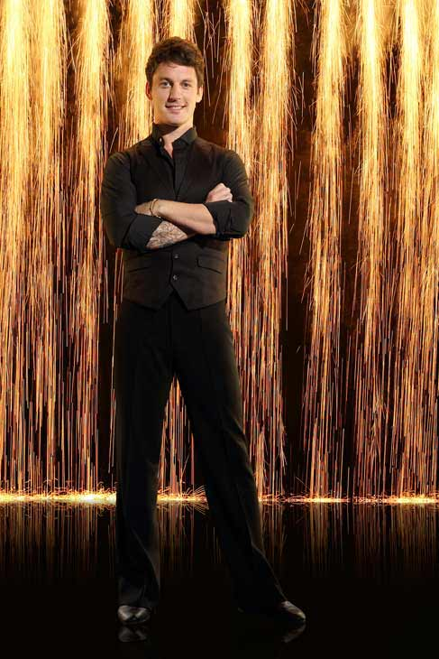 "<div class=""meta ""><span class=""caption-text "">Pro dancer Tristan Macmanus appears in an official cast photo for 'Dancing With The Stars: All-Stars' season 16. (ABC Photo/ Craig Sjodin)</span></div>"