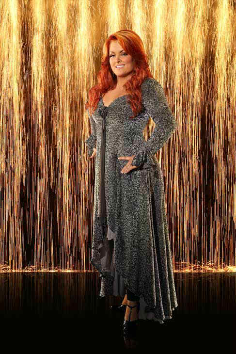 Wynonna Judd appears in an official cast photo for 'Dancing With The Stars: All-Stars' season 16.