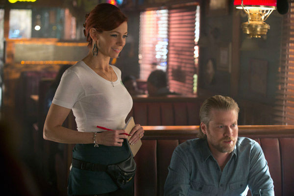 Carrie Preston and Todd Lowe appear in a scene from the fifth episode of season 6 of &#39;True Blood.&#39; The show&#39;s sixth season debuts on June 16 on HBO. <span class=meta>(John P. Johnson &#47; HBO)</span>