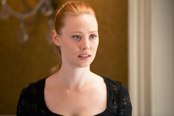 "<div class=""meta ""><span class=""caption-text "">Deborah Ann Woll appears in a scene from the third episode of season 6 of 'True Blood.' The show's sixth season debuts on June 16 on HBO. (John P. Johnson / HBO)</span></div>"