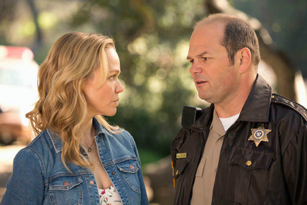 Lauren Bowles and Chris Bauer appear in a scene from the third episode of season 6 of &#39;True Blood.&#39; The show&#39;s sixth season debuts on June 16 on HBO. <span class=meta>(John P. Johnson &#47; HBO)</span>