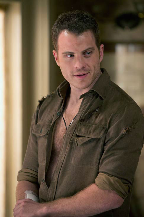 "<div class=""meta ""><span class=""caption-text "">Rob Kazinsky appears in a scene from the second episode of season 6 of 'True Blood.' The show's sixth season debuts on June 16 on HBO.Kazinsky is a newcomer to the series and plays a character named Ben Flynn. (John P. Johnson / HBO)</span></div>"