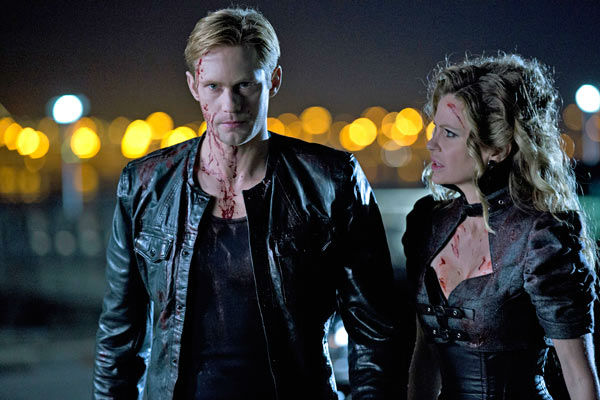 Alexander Skarsgard and Kristin Bauer van Straten appear in a scene from the season 6 premiere of &#39;True Blood,&#39; which airs on June 16 on HBO. <span class=meta>(John P. Johnson &#47; HBO)</span>