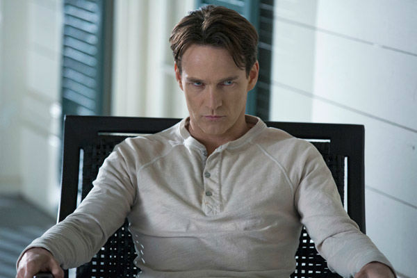 "<div class=""meta ""><span class=""caption-text "">Stephen Moyer appears in a scene from the season 6 premiere of 'True Blood,' which airs on June 16 on HBO. (John P. Johnson / HBO)</span></div>"